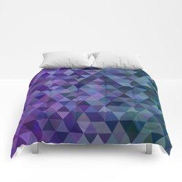 Triangle tiles Comforters