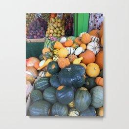 Pumpkins Metal Print