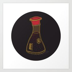 daily foods: soy Art Print