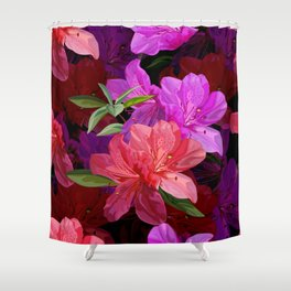 Beautiful hibiscus flowers Shower Curtain