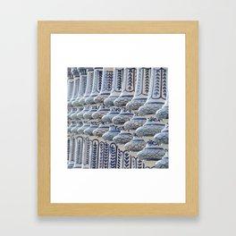 Serpiente Framed Art Print