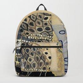 Gustav Klimt - The Hydra - Digital Remastered Edition Backpack