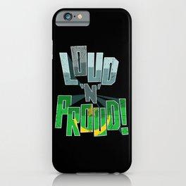 Mauritania Pride Loud N Proud iPhone Case