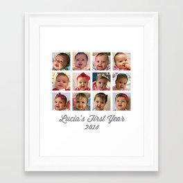 Custom - Baby Love Framed Art Print