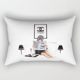Relax reading Rectangular Pillow