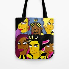 WE ARE GLAMILY (the Simpsons version) Tote Bag