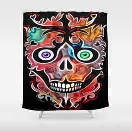 Sheldon Skully Shower Curtain