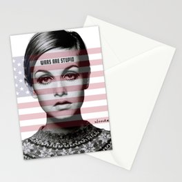 Wars are Stupid Stationery Cards