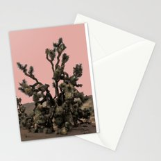 pink joshua tree Stationery Cards