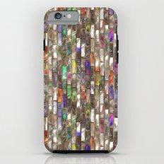 Rainbow Abalone Glass Tile Texture Tough Case iPhone 6