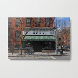Old School Deli Metal Print