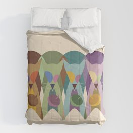 Cracked Out Squirrels Comforters