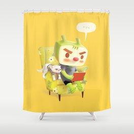 Hmm Shower Curtain