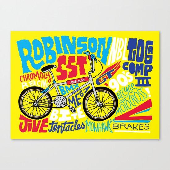 All My Bikes: 4, Robinson SST Canvas Print