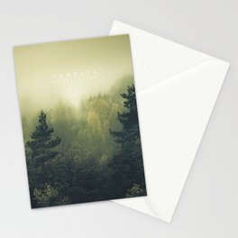 Forests never sleep Stationery Cards