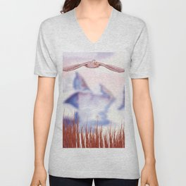 Bird of prey Unisex V-Neck