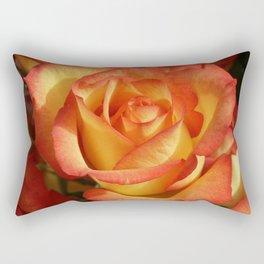 Rose OrangeYellow 2 Rectangular Pillow