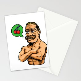 Power Hungry Stationery Cards