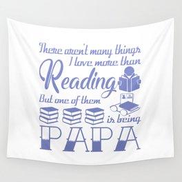 Reading Papa Wall Tapestry