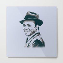 Sinatra Metal Print