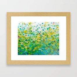 Bubbling Spring Framed Art Print