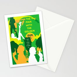 James Bond Golden Era Series :: The Man with the Golden Gun Stationery Cards