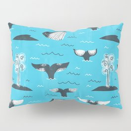 Whale Tails (The Humpback Kind!) Pillow Sham