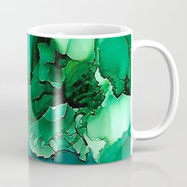 Into the Depths of Sea Green Mysteries Coffee Mug