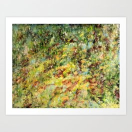 Lush (At Home in the Woods)  Art Print