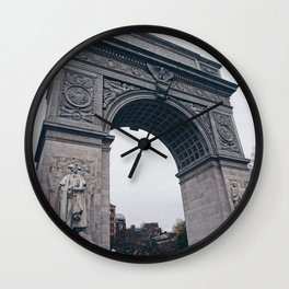 NYC Arch-pt.3 Wall Clock