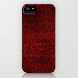 Red Jitter iPhone Case