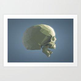 Skull - ROAR Art Print