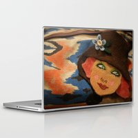 backpack Laptop & iPad Skins featuring Backpack by Callieen