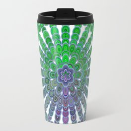 Spring Mandala Wheel Travel Mug