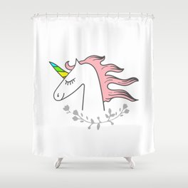 You are enough! Shower Curtain