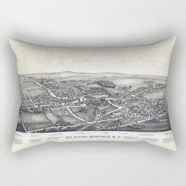 Clifton Springs - New York - 1892 Rectangular Pillow