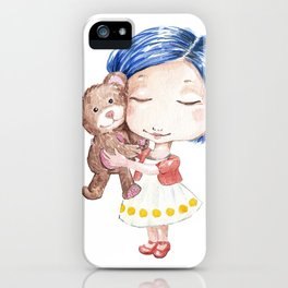 Hug a Bear iPhone Case