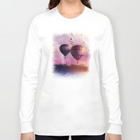 nan lawson Long Sleeve T-shirts featuring  So Far so Close by Viviana Gonzalez