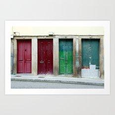 Portugal Doors 2 Art Print