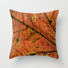 Fall Leaf III Throw Pillow