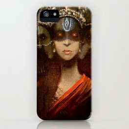 Hecate in a Crown iPhone Case