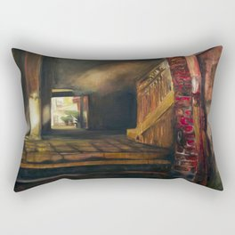 Corridor in Venice Rectangular Pillow
