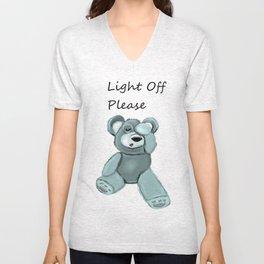 Light off please Unisex V-Neck