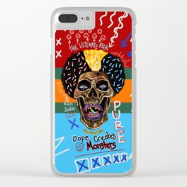 Dope Creates Monsters Ultimate Clear iPhone Case