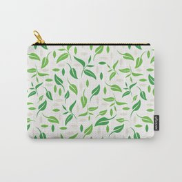 Tea leaves pattern Abstract Carry-All Pouch