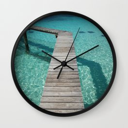 Stingray Boardwalk - Nassau Wall Clock