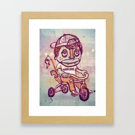 Tricycle Thuglife Framed Art Print