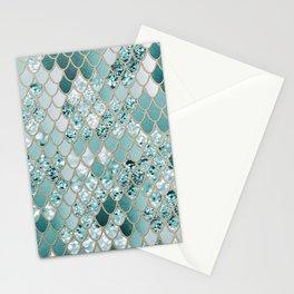 Mermaid Glitter Scales #3 #shiny #decor #art #society6 Stationery Cards