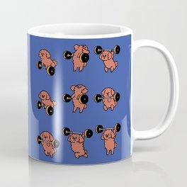Olympic Lifting  Poodle Coffee Mug