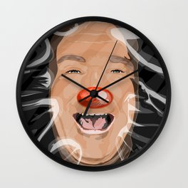 Laugh Forever Wall Clock